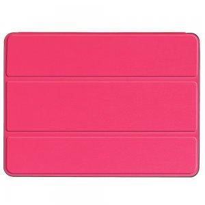 Двухсторонний чехол книжка для iPad Air 10.5 (2019) с подставкой - Ярко-Розовый