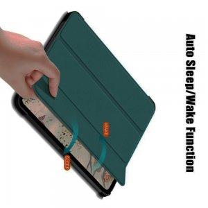 Двухсторонний чехол книжка для iPad Air 2020 с подставкой - Зеленый