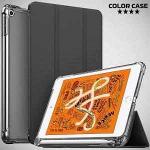 Двухсторонний чехол книжка для iPad Mini 2019 с подставкой - Черный
