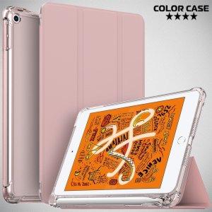 Двухсторонний чехол книжка для iPad Mini 2019 с подставкой - Розовый