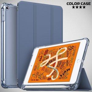 Двухсторонний чехол книжка для iPad Mini 2019 с подставкой - Синий