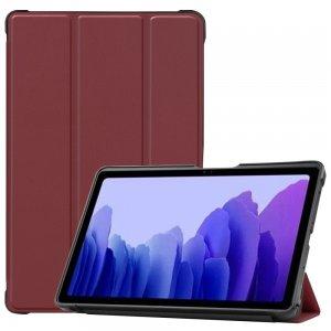 Двухсторонний чехол книжка для Samsung Galaxy Tab A7 10.4 2020 SM-T505 с подставкой - Коричневый