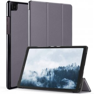 Двухсторонний чехол книжка для Samsung Galaxy Tab A7 10.4 2020 SM-T505 с подставкой - Серый