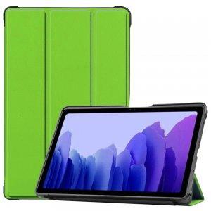 Двухсторонний чехол книжка для Samsung Galaxy Tab A7 10.4 2020 SM-T505 с подставкой - Зеленый