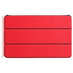 Двухсторонний чехол книжка для Samsung Galaxy Tab S6 Lite 10.4 с подставкой - Красный