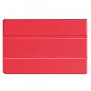 Двухсторонний чехол книжка для Samsung Galaxy Tab S6 SM-T865 SM-T860 с подставкой - Красный