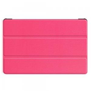 Двухсторонний чехол книжка для Samsung Galaxy Tab S6 SM-T865 SM-T860 с подставкой - Светло-Розовый