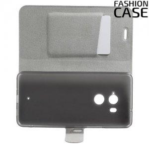 Fashion Case чехол книжка флип кейс для HTC U11 Plus - Черный