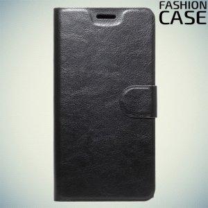 Fashion Case чехол книжка флип кейс для Sony Xperia XA1 Plus - Черный