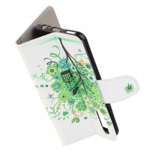 Флип чехол книжка для Huawei Honor 9X / 9X Premium с рисунком зеленое дерево