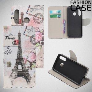 Флип чехол книжка для Huawei P Smart Z с рисунком Париж