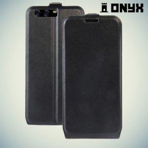 Флип чехол книжка для Huawei P10 - Черный