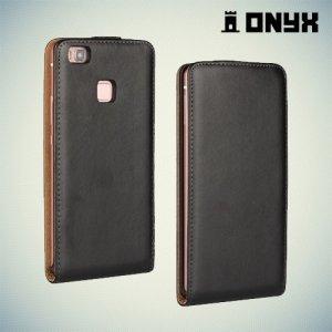 Флип чехол книжка для Huawei P9 Lite - Черный