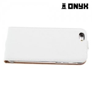 Флип чехол книжка для iPhone 6S / 6 - Белый