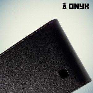 Флип чехол книжка для LG G4c H522Y - Черный