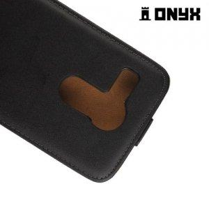 Флип чехол книжка для LG Nexus 5X - Черный
