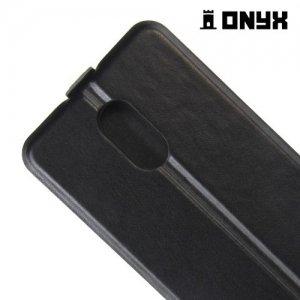 Флип чехол книжка для LG Stylus 3 M400DY - Черный