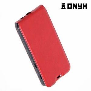 Флип чехол книжка для Samsung Galaxy A5 2017 SM-A520F - Красный