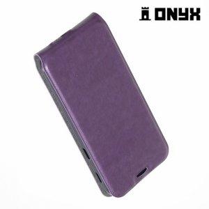 Флип чехол книжка для Samsung Galaxy A5 2017 SM-A520F - Фиолетовый