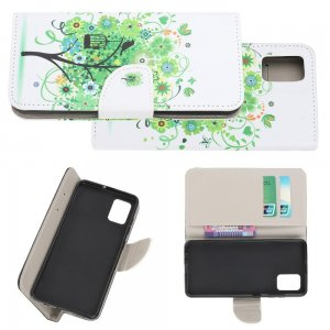 Флип чехол книжка для Samsung Galaxy S10 Lite с рисунком дерево