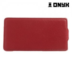 Флип чехол книжка для Sony Xperia Z3 Compact D5803 - Красный
