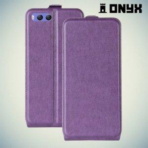 Флип чехол книжка для Xiaomi Mi 6 - Фиолетовый