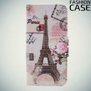 Флип чехол книжка для Xiaomi Redmi 6 с рисунком париж
