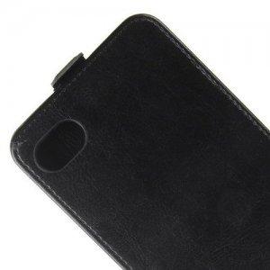 Флип чехол книжка вертикальная для BlackBerry Motion - Черный