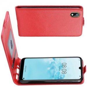 Флип чехол книжка вертикальная для Huawei Honor 8S / Y5 2019 - Красный