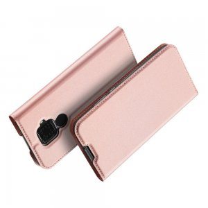 Флип чехол книжка вертикальная для Huawei Mate 30 Lite - Светло-Розовый