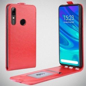 Флип чехол книжка вертикальная для Huawei P Smart Z - Красный
