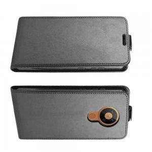 Флип чехол книжка вертикальная для Nokia 5.3 - Черный