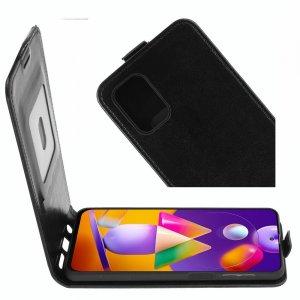 Флип чехол книжка вертикальная для Samsung Galaxy M31s - Черный