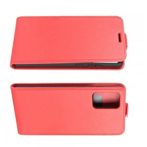 Флип чехол книжка вертикальная для Samsung Galaxy Note 20 - Красный