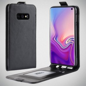 Флип чехол книжка вертикальная для Samsung Galaxy S10e - Черный