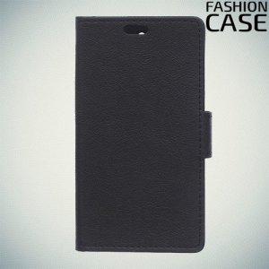 Flip Wallet чехол книжка для Alcatel 1 - Черный