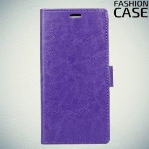 Flip Wallet чехол книжка для Alcatel 3 5052D - Фиолетовый