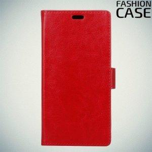 Flip Wallet чехол книжка для Alcatel 5 5086D - Красный