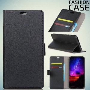 Flip Wallet чехол книжка для Alcatel 5v - Черный