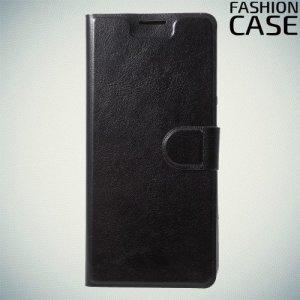 Flip Wallet чехол книжка для Asus Zenfone 5 Lite ZC600KL - Черный