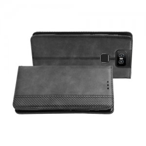 Flip Wallet чехол книжка для Asus Zenfone 6 ZS630KL - Черный