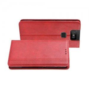Flip Wallet чехол книжка для Asus Zenfone 6 ZS630KL - Красный