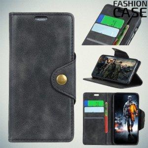 Flip Wallet чехол книжка для ASUS Zenfone Live L1 ZA550KL - Черный