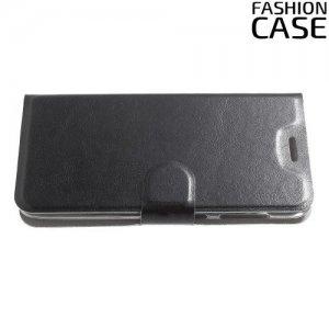 Flip Wallet чехол книжка для Asus Zenfone Max M1 ZB555KL - Черный