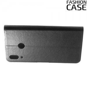 Flip Wallet чехол книжка для Asus Zenfone Max M2 ZB633KL - Черный