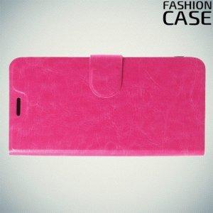 Flip Wallet чехол книжка для Asus Zenfone Max M2 ZB633KL - Розовый