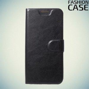 Flip Wallet чехол книжка для Asus Zenfone Max Pro (M1) ZB601KL / ZB602KL - Черный