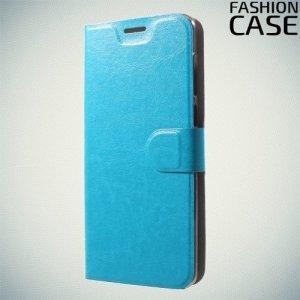 Flip Wallet чехол книжка для ASUS ZenFone Max Pro M1 ZB602KL /  ZB601KL - Голубой