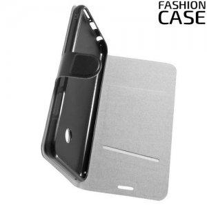 Flip Wallet чехол книжка для Asus Zenfone Max Pro M2 ZB631KL - Черный