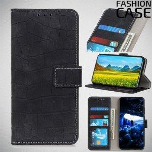 Flip Wallet чехол книжка для Huawei Nova 5T - Черный